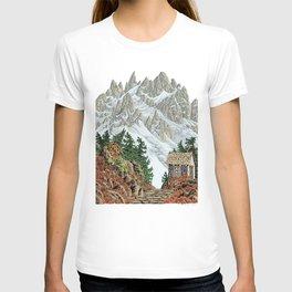 BEYOND MOUNT SHUKSAN AUTUMN COLOR VERSION T-shirt