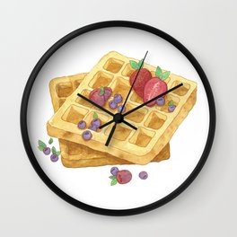 Waffles Wall Clock