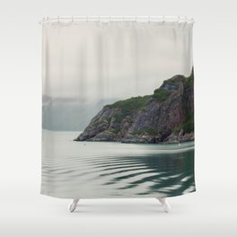 Ripples in the Bay Shower Curtain