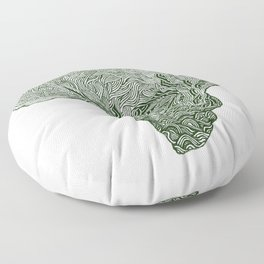 ROOTED (congo) Floor Pillow