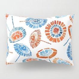 Japanese Sun Umbrella Pattern Pillow Sham