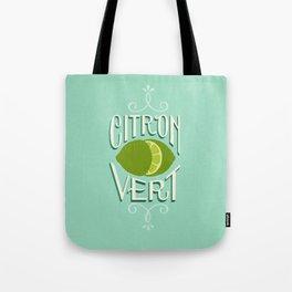 Citron Vert (Lime) Tote Bag