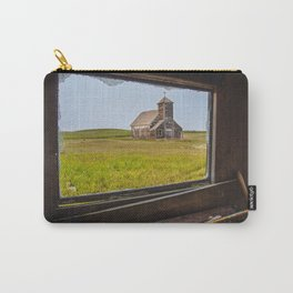 St.John's as Seen from the Yellow House, Arena, ND 1 Carry-All Pouch