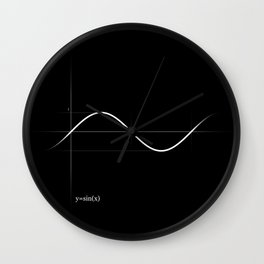 Pure Sine Wall Clock