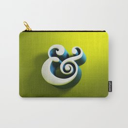 Ampersand - Type in Space Carry-All Pouch