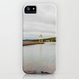 Grand Marais Lighthouse, Grand Marais, Minnesota 2 iPhone Case