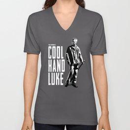 Paul Newman - Cool Hand Luke Unisex V-Neck