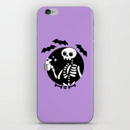 Death Before Decaf // Purple iPhone Skin