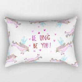 Be Unic Be You! Rectangular Pillow