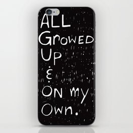 All Growed Up iPhone Skin