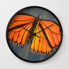 Monarch - Cloudburst Wall Clock