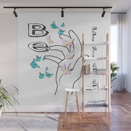 Be free Wall Mural