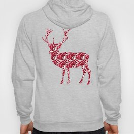 Christmas Pattern Deer Hoody