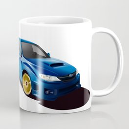 Blue Wonder Coffee Mug