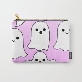 pastel ghosts pink Carry-All Pouch