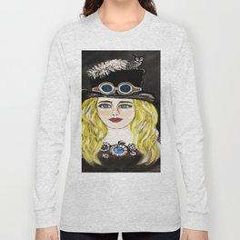 Steampunk Beauty Long Sleeve T-shirt
