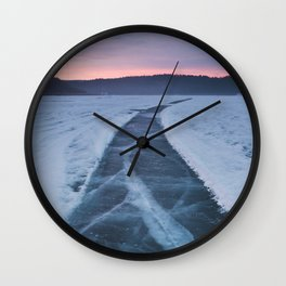 Bearspaw Reservoir Wall Clock