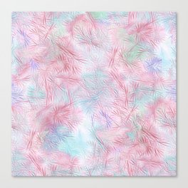 Tangled Pink Fireworks Canvas Print