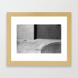 Curvature  Framed Art Print