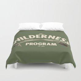 The Wilderness Program Duvet Cover