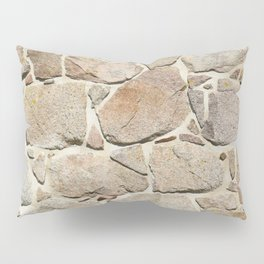old quarry stone wall Pillow Sham