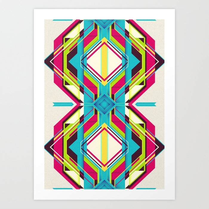 Connected Generation Art Print