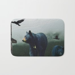 The Sacred Trail of the Great Bear Bath Mat