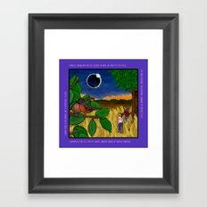 Solar Eclipse Dream Framed Art Print