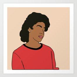 Clair Huxtable. Poster. Print Art Print