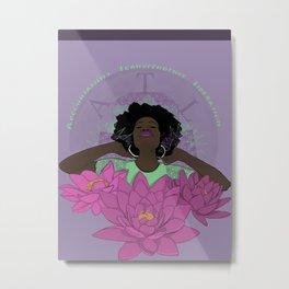 Reproductive Justice Blooms Metal Print