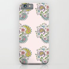 Paisley pattern iPhone 6s Slim Case