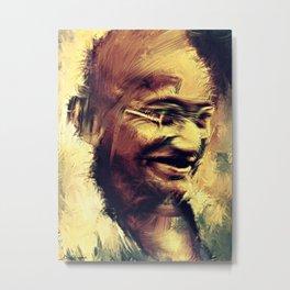 Man of peace :Mahatma Gandhi Metal Print