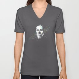 Dennis Ritchie - Tech Heroes series Unisex V-Neck