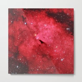 Emission Nebula Metal Print
