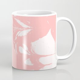 Tan - spilled ink rose pink marble marbling japanese watercolor water wave Coffee Mug