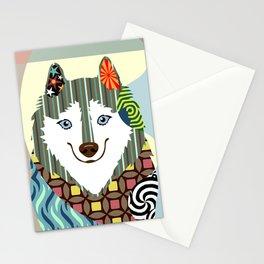 American Eskimo Stationery Cards