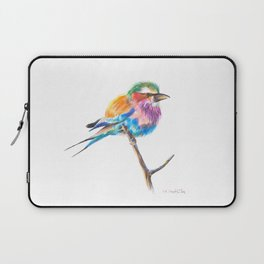 Lilac-breasted roller bird Laptop Sleeve