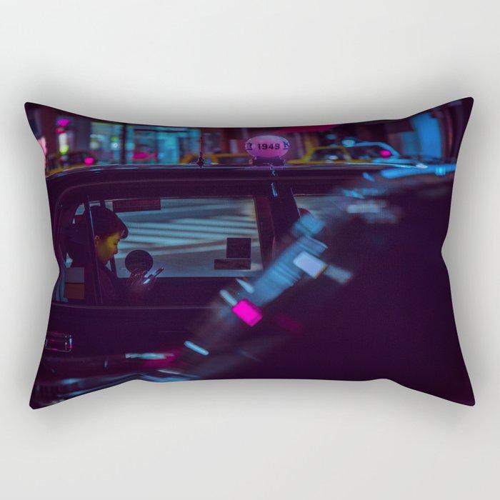 Tokyo Nights / Roppongi Nights / Liam Wong Rectangular Pillow