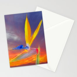 Sunset Flow Stationery Cards