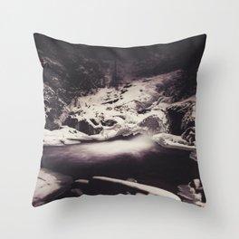 Frozen Seclusion Throw Pillow