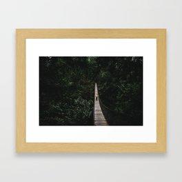 The Bridge to Nowhere Framed Art Print