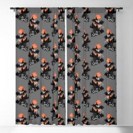 A samurai's life Blackout Curtain