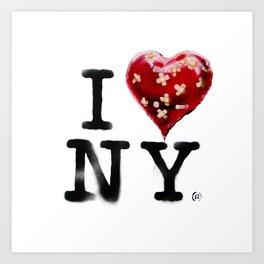 Banksy * I Love New York Art Print