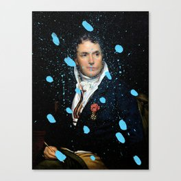 Brutalized Portrait of a Gentleman Canvas Print