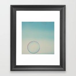 bubble 4 ... Framed Art Print