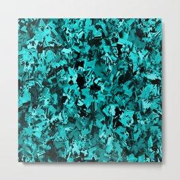 Turquoise Craze..... Metal Print