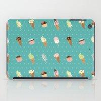 dessert iPad Cases featuring Dessert by Olya Yang