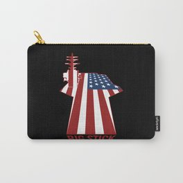 Big Stick Patriotic U.S. Aircraft Carrier Carry-All Pouch