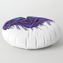 Stripes three Floor Pillow