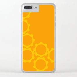 2013:  The Year I went in Circles (vertical) Clear iPhone Case